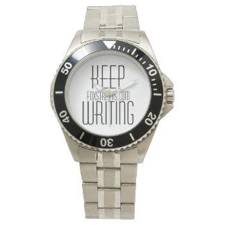Reloj del acero inoxidable - FOXSTREETS.COM