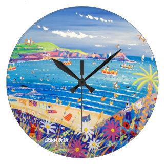 Reloj del arte: La bahía Cornualles de Ivey de la