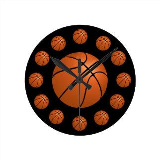 Reloj del átomo del baloncesto