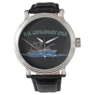 reloj del barco de la pesca profesional