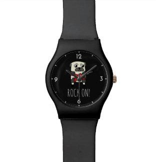 Reloj del barro amasado de Rockstar
