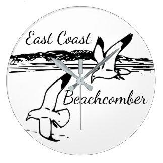 Reloj del Beachcomber de la costa este de la playa