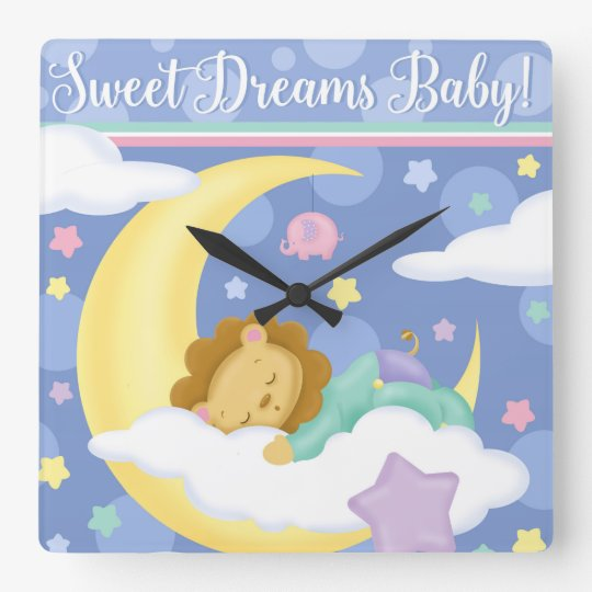 Reloj del bebé de los sueños dulces