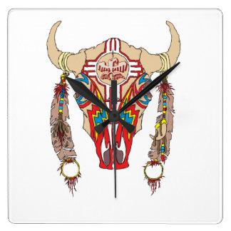 Reloj del bisonte de Apache del equipo
