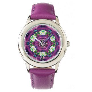Reloj del caleidoscopio de Violette