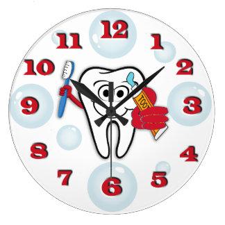 Reloj del cepillo de dientes