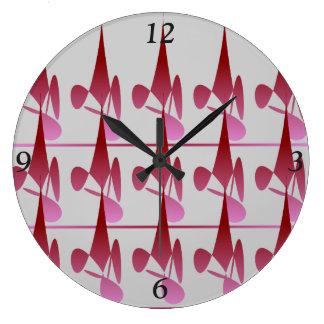 Reloj Redondo Grande Reloj del círculo de la sombra del diamante