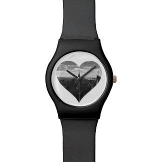 Reloj del corazón del estado del imperio de Nueva