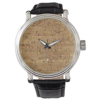 Reloj del corcho