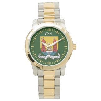 Reloj del corcho del condado