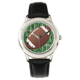 Reloj del diseño del fútbol