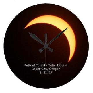 Reloj del eclipse solar
