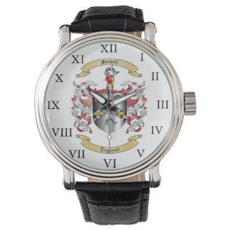 Reloj del escudo de armas de Sargent