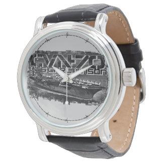 Reloj del eWatch de Carl Vinson de portaaviones