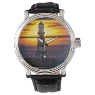 Reloj del faro de Roker