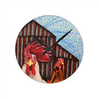 Reloj del gallo y de la gallina