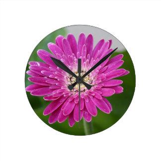 Reloj del Gerbera de las rosas fuertes