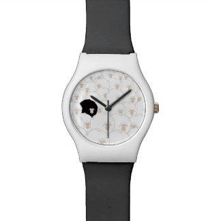 Reloj De Pulsera Reloj del ilustracion de las ovejas negras