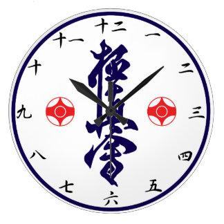 Reloj del kanji del karate de Kyokushin