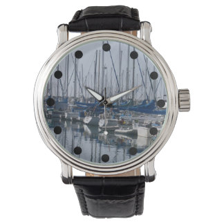 Reloj del lavabo del barco reloj