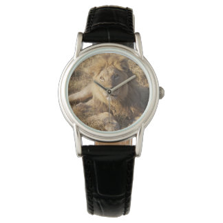 Reloj del león
