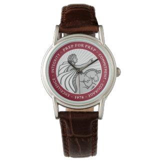 Reloj del logotipo de las mujeres