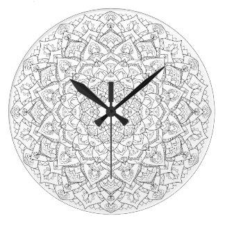 Reloj del loto de la mandala
