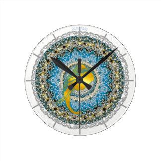 Reloj del Mindfulness de Ganesha de la mandala del