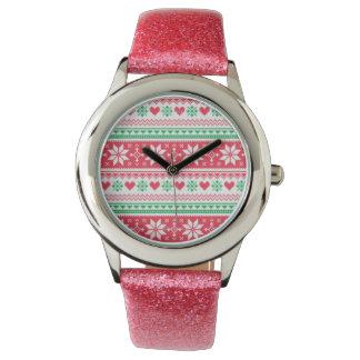 reloj del navidad