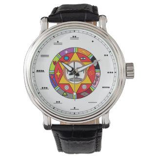 Reloj del número del maya