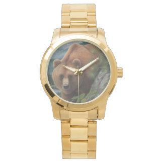 Reloj del oso grizzly de las mujeres