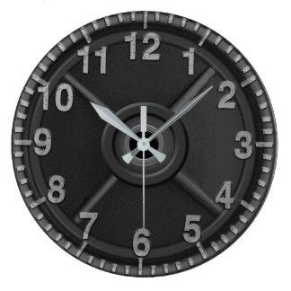 Reloj del peso del hierro del gimnasio