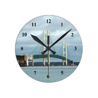Reloj del puente de Mackinac