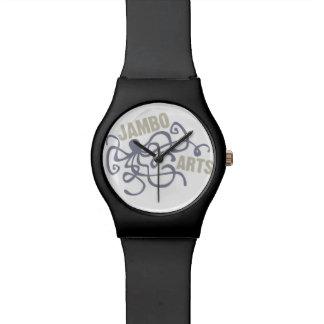 Reloj del pulpo de los artes de Jambo