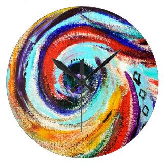 Reloj del remolino del arco iris