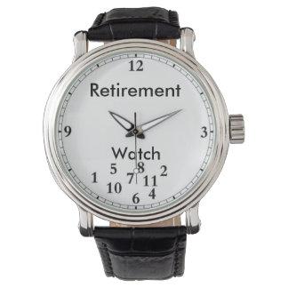 Reloj del retiro