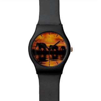 Reloj del safari May28th del elefante