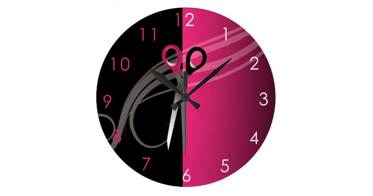 Reloj del sal n de pelo - Reloj para salon ...