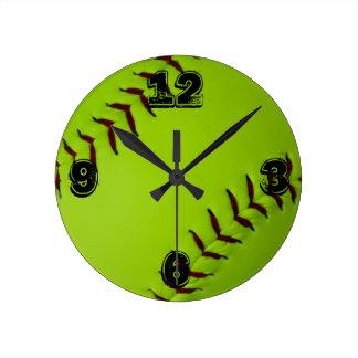 Reloj del softball