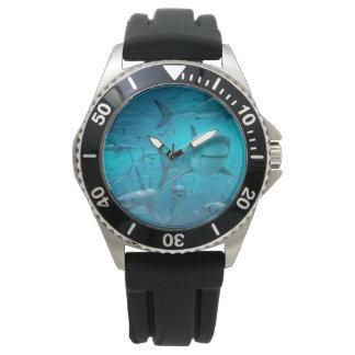 reloj del tiburón