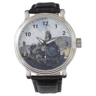 Reloj del tren 14 y opciones del número