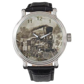 Reloj del tren 32 y opciones del número