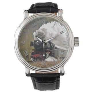 Reloj del tren 34 y opciones del número