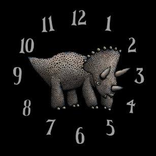 aa4097368b24 Reloj del Triceratops del niño