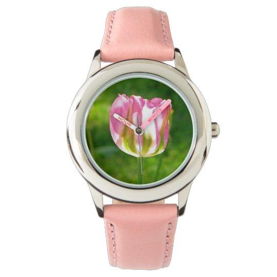 Reloj del tulipán