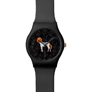Reloj del unicornio de la calabaza