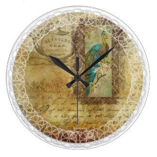 reloj del Victorian del Té-tiempo