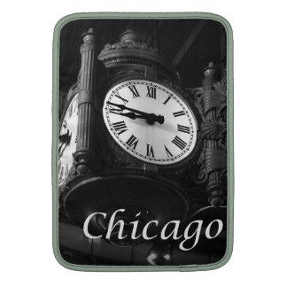 Reloj del vintage de la hazaña de la manga de aire funda para MacBookAir