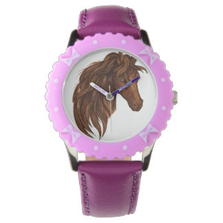 Reloj Deporte del caballo de los caballos