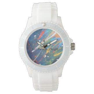 Reloj deportista de baño de brazo with